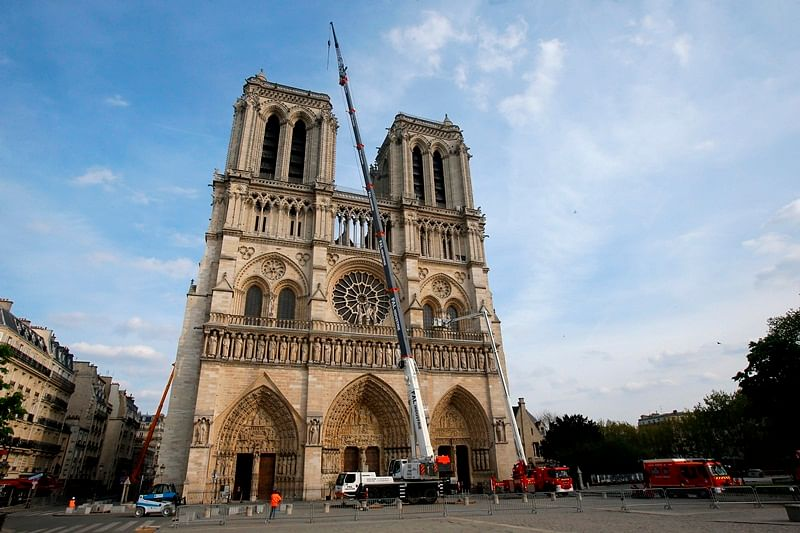 Short circuit or cigarettes probably caused Notre Dame Cathedral fire