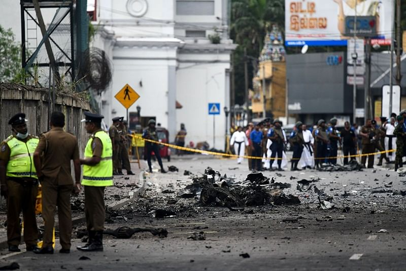 Sri Lanka serial blasts: One of nine bombers was a woman, says Sri Lanka's deputy defence minister Ruwan Wijewardene