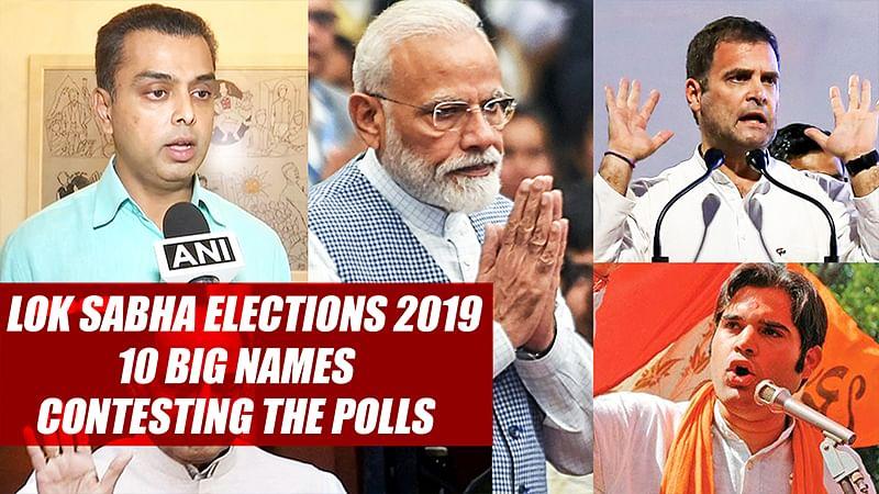 Lok Sabha Elections 2019: 10 Big Names Contesting The Polls