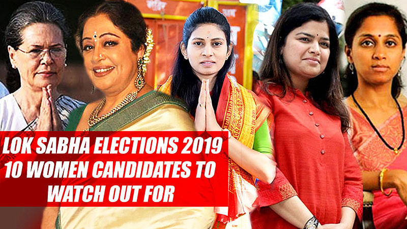Lok Sabha Elections 2019: 10 Women Candidates To Watch Out For