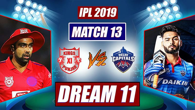 IPL 2019 KXIPvs DC Match 10: Probable Playing XI, Dream 11 Prediction
