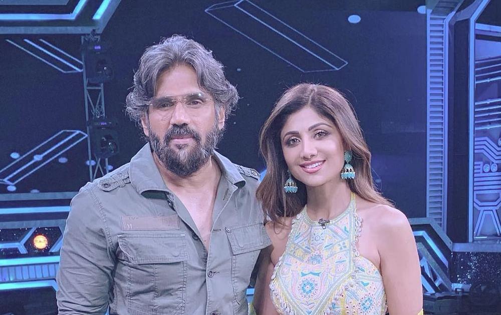 'Dhadkan' duo Shilpa Shetty, Suniel Shetty aka Dev-Anjali reunite on television