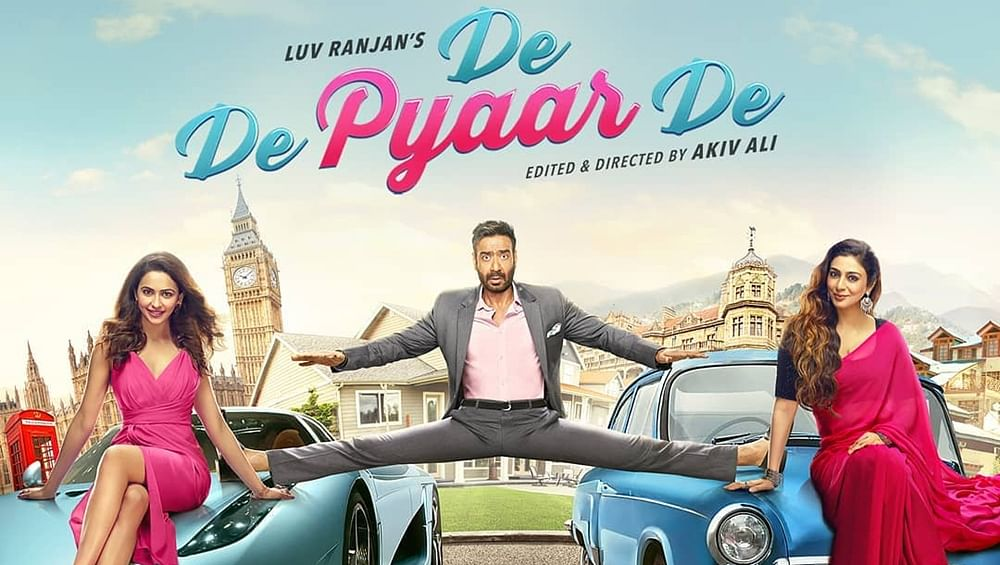 Ajay Devgn shares new peppy track from 'De De Pyaar De'