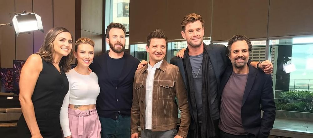 Mark Ruffalo and Chris Evans offer a chance to attend 'Avengers: Endgame' world premiere