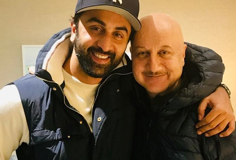 "Anupam calls Ranbir Kapoor 'India's finest' actor , says ""he is hugely talented"""
