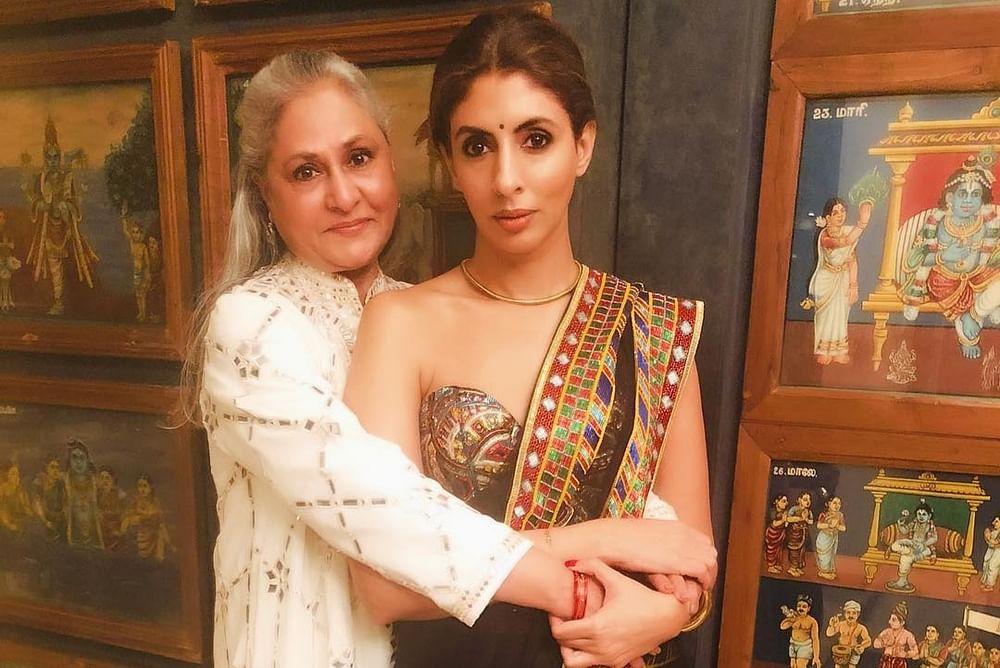 Abhishek and Shweta Bachchan wish 'captain' Jaya Bachchan on her birthday