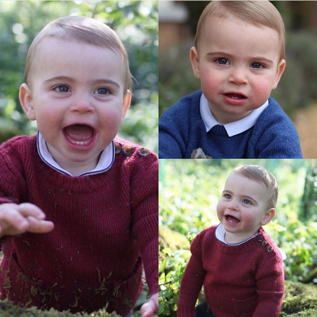 UK's Royal Family releases Prince Louis's new images ahead of his first birthday