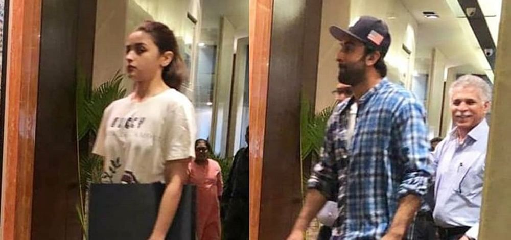 Alia Bhatt, Ranbir Kapoor to move in together? Duo spotted picking interior designs