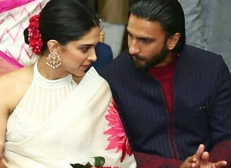 Unseen pic of Ranveer Singh holding wife Deepika's sandals at a wedding goes viral