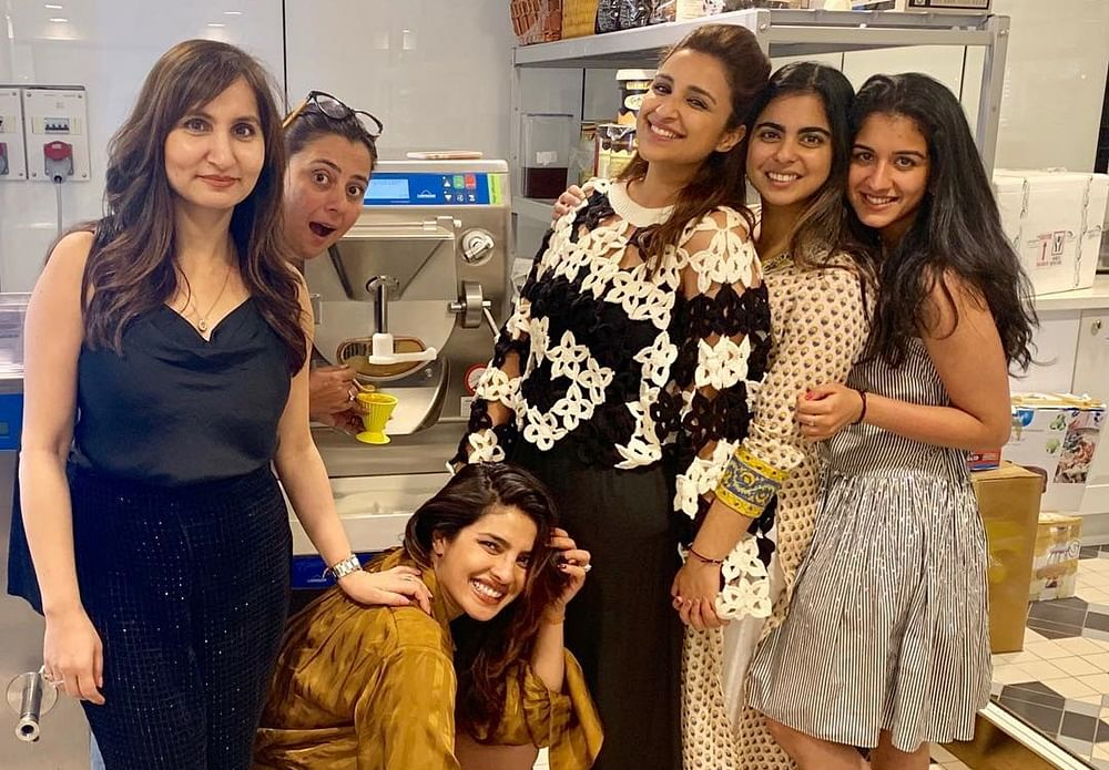Alia misses Priyanka, Parineeti and Isha Ambani's Ice cream party