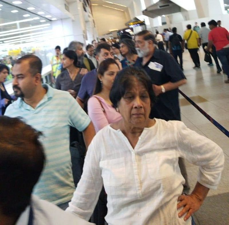 Immigration system server face glitches at Delhi airport; long queues at counters
