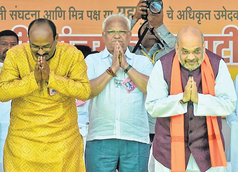 Won't allow 2 PMs in India: Amit Shah