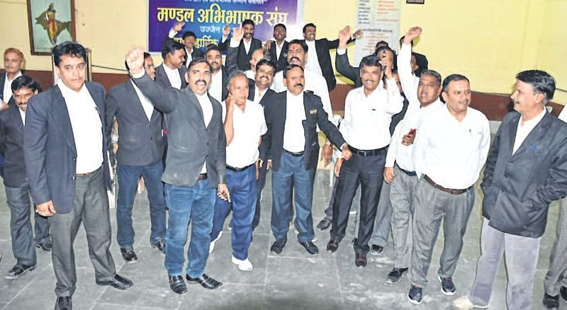 Ujjain: Lawyers come face to face