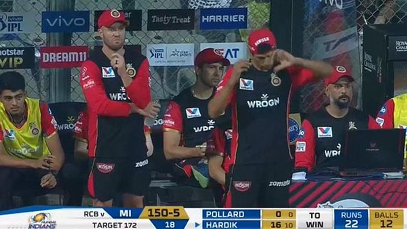 Coaching fails! RCB coach Ashish Nehra's idea to use spinner in 19th over against Mumbai Indians flops drastically