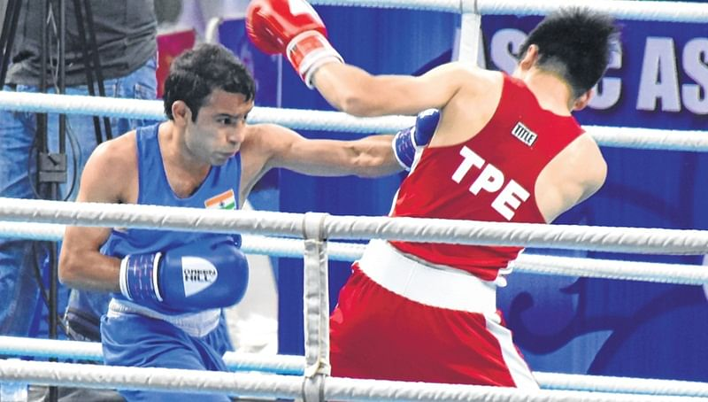 Asian Boxing Championships: 5 Indian boxers in quarters