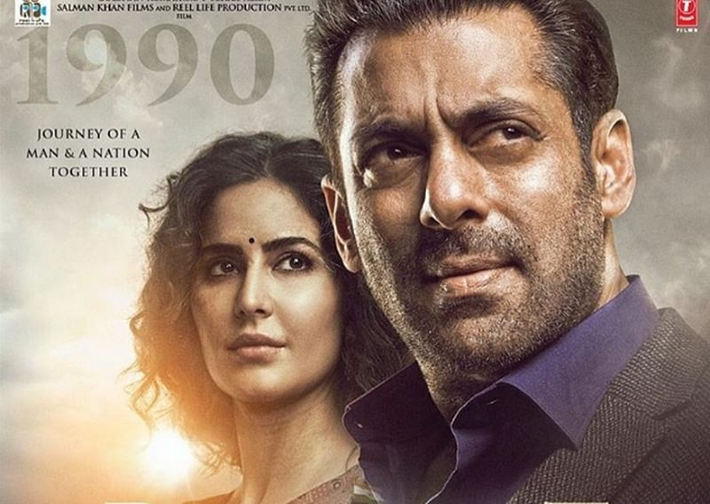 BHARAT: Salman Khan and Katrina Kaif reveal about the pain behind their smile in the latest poster