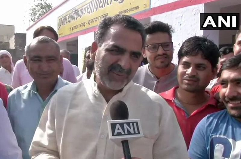 "Lok Sabha elections 2019: BJP's Sanjeev Balyan alleges 'fake voting', says ""burqa-clad"" voters were not being verified"