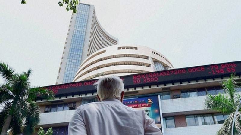 Market Update: Sensex down by 1,900 points in closing trade