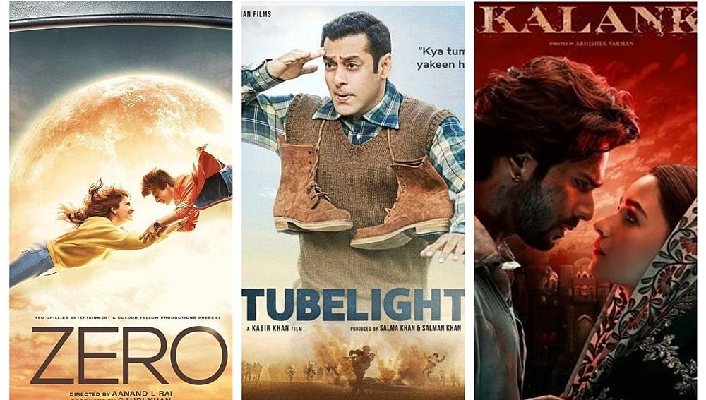 Kalank, Zero, Tubelight: Films with disastrous titles that 'predicted' its fate