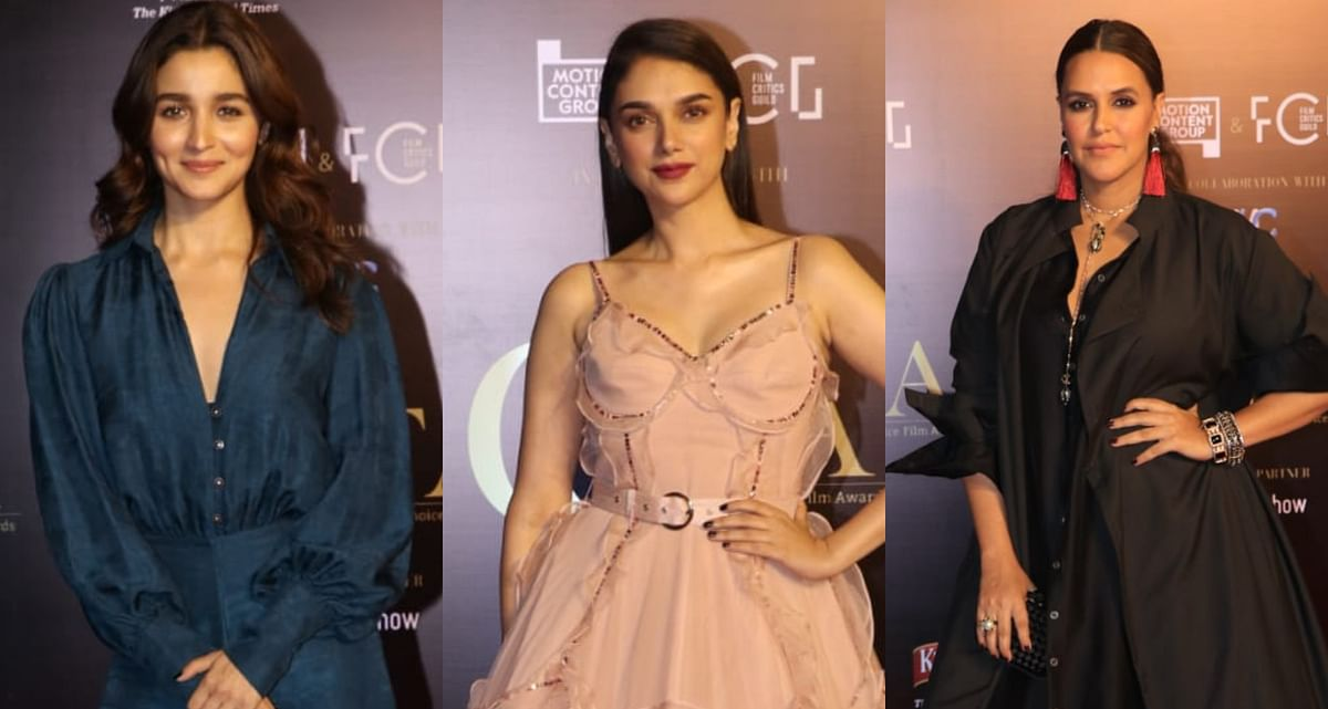 Alia Bhatt, Aditi Rao Hydari, Neha Dhupia turn heads at the Critics Choice Film Awards 2019
