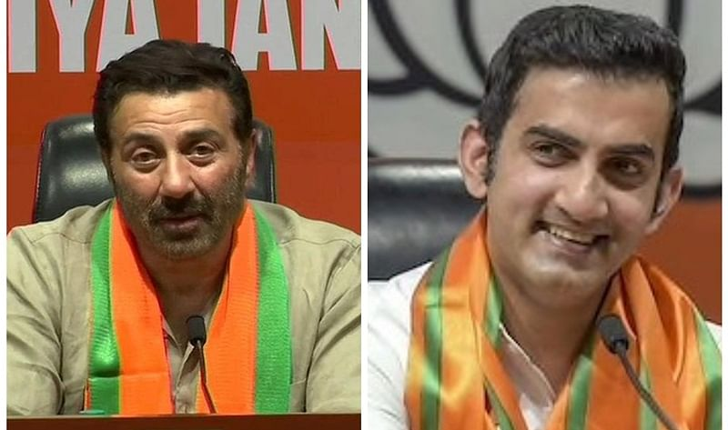 Gautam Gambhir, Sunny Deol – 6 Indian celebs inspired by PM Modi, joined BJP in 2019