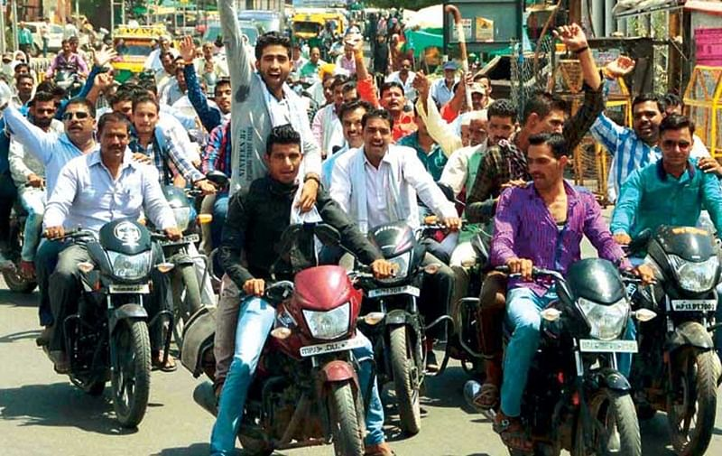 Ujjain: Vehicle rally taken out by Sindhi community mesmerises people