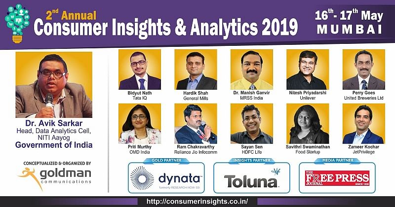 Announcing Our First Series of Speakers For 2nd Annual Consumer Insights & Analytics Summit 2019