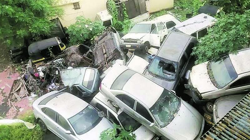 Second lot of abandoned vehicles will be auctioned in May: Mumbai Traffic Police