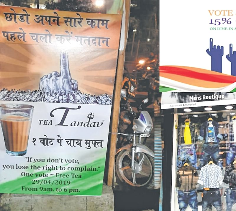 Free tea, coffee and discount coupons: Thane voters are spoilt for a choice