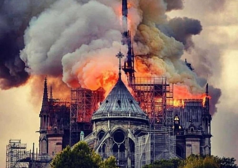 Bollywood reacts after the devastating Notre Dame fire in Paris