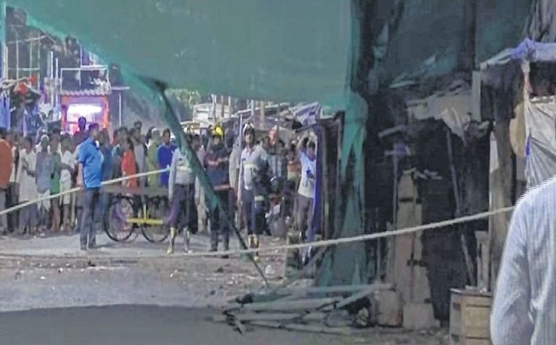 Dharavi scaffolding collapse: After 1 dead, 3 injured, police book contractor for causing death due to negligence