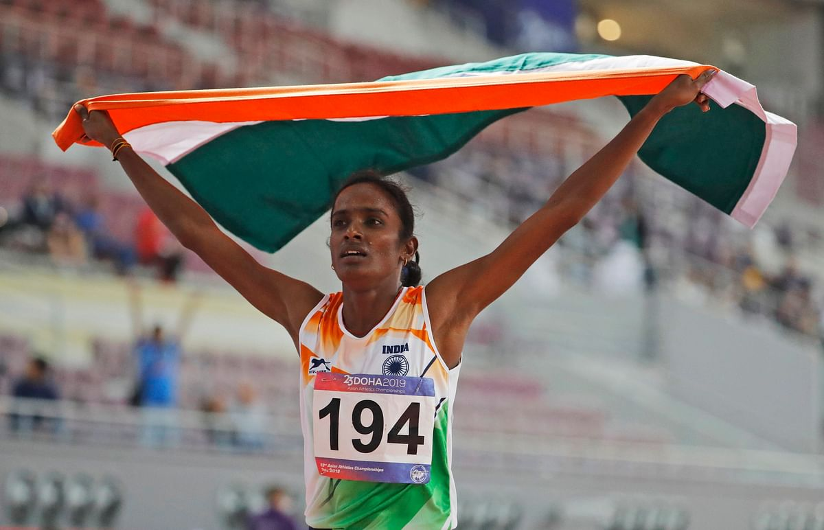 Asian gold medallist Gomathi Marimuthu fails dope test