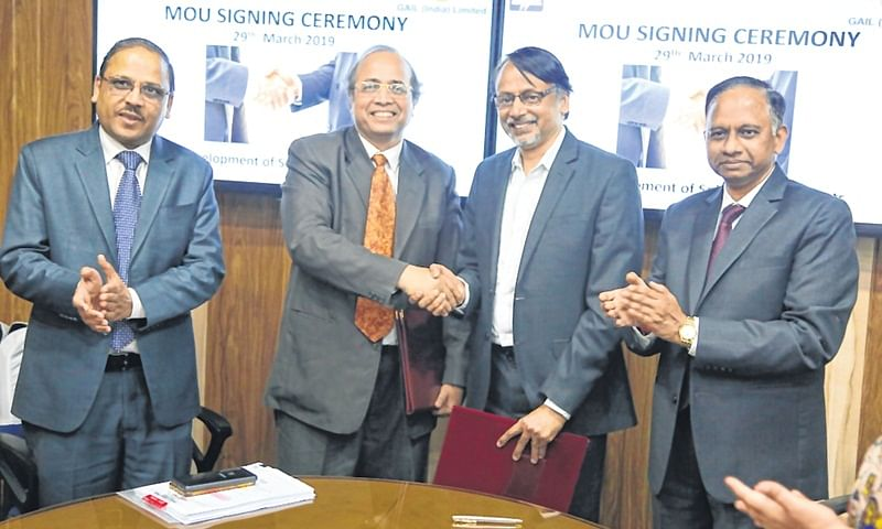 GAIL, BHEL sign MoU for Solar power projects