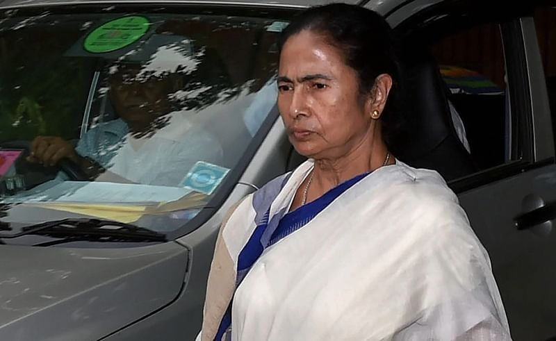 Mamata Banerjee alleges central forces are working for BJP, sitting inside booths and asking voters to cast vote in favour of saffron party