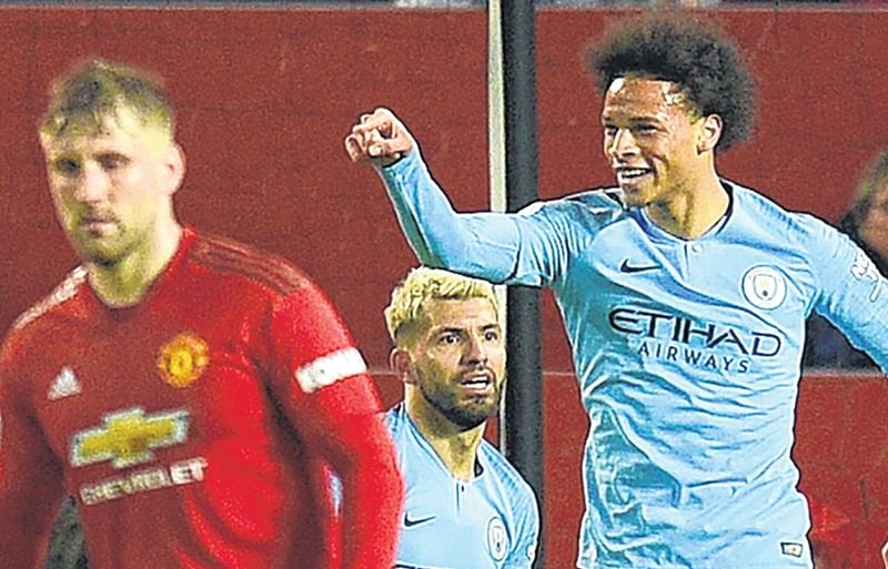 Premier League: Cold Trafford for Manchester United as Man City seal 2-0 win