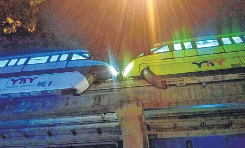 Monorail rakes in Rs 7cr in revenue triples ridership from 2018