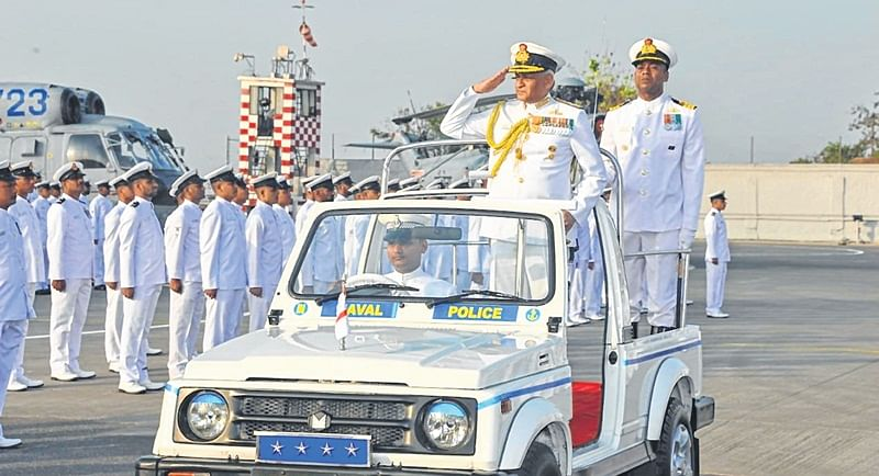 Devotion to duty: INS Shikra hosts naval investiture ceremony