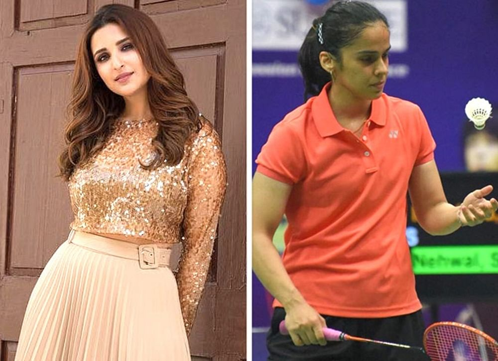 Parineeti Chopra is binging on Saina Nehwal's badminton videos
