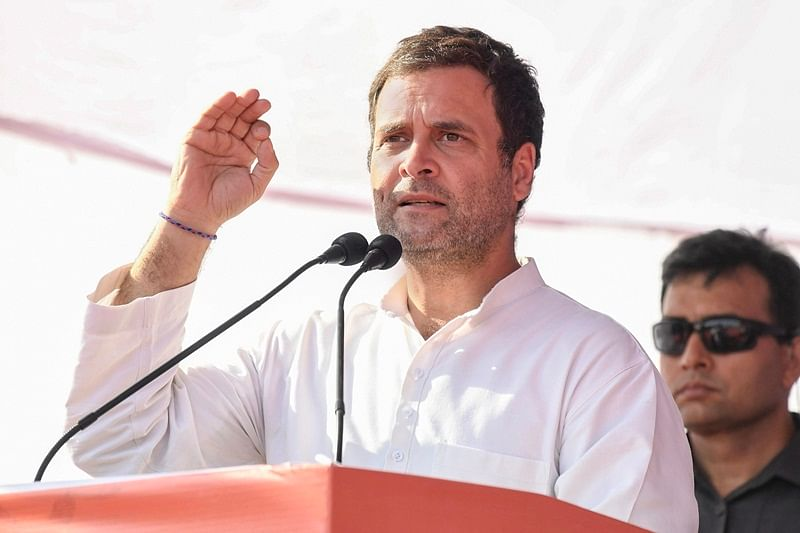 Rahul Gandhi hits out at PM Modi, says watchman with '56-inch chest' lost historic opportunity bestowed on him