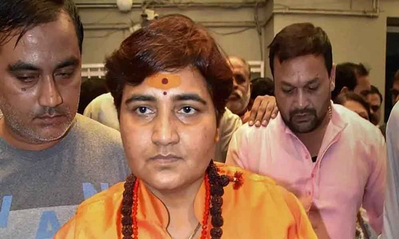 Bhopal: Sadhvi Pragya Singh Thakur breaks down as Uma embraces her
