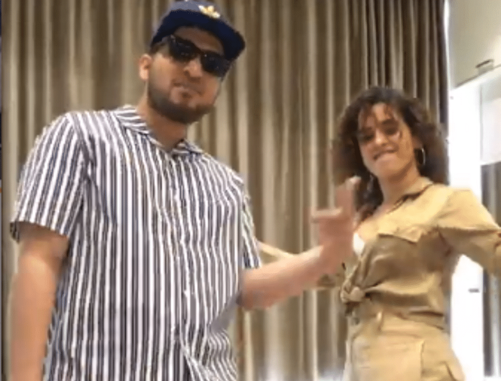 Watch Video! Sanya Malhotra grooving to Naezy's 'Aafat Waapas' is winning the internet