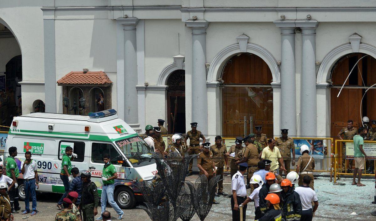 British family survives Sri Lanka bombing