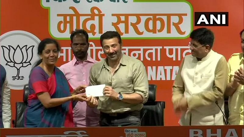 BJP fields Sunny Deol from Gurdaspur, Kirron Kher from Chandigarh