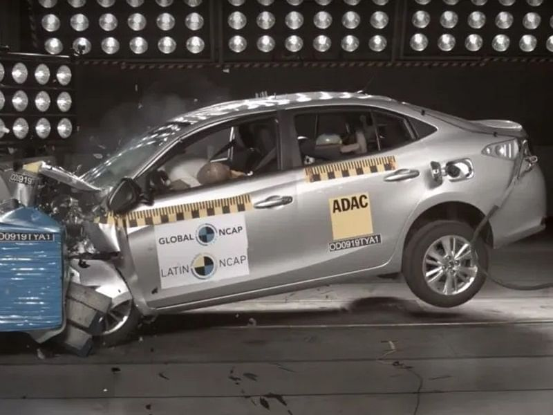 Toyota Yaris Secures 4 Stars In Latin NCAP Test