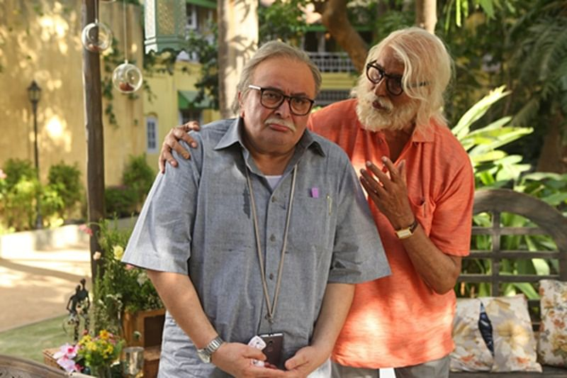 Rishi Kapoor & Amitabh Bachchan in 102 Not Out