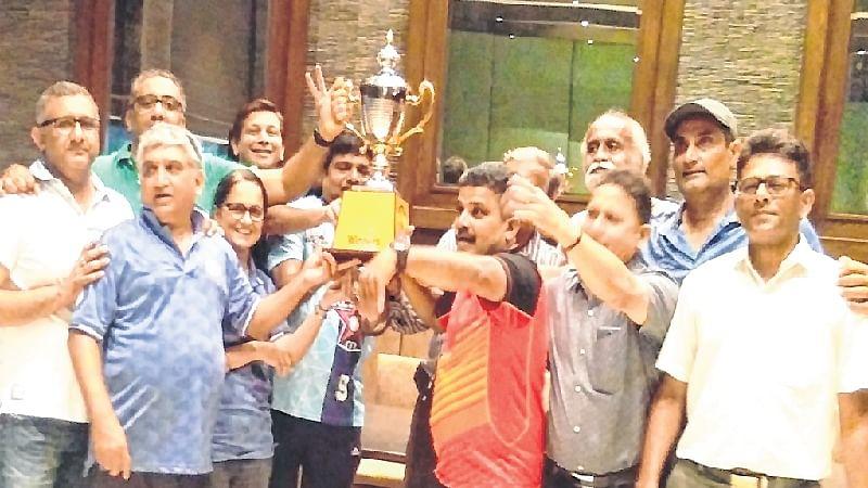 Table Tennis tournament: Hindu Gym B champs