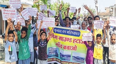 Ujjain: Villagers to boycott election over trenching ground row