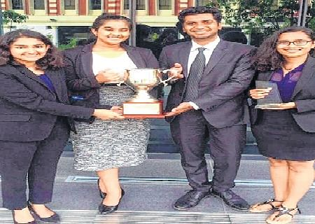 Bhopal: NLIU Bhopal team wins IFIIL Moot Court competition in Singapore