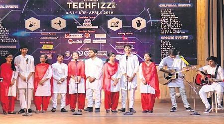 Tech Fizz 2K19: Cultural, tech & sports events held