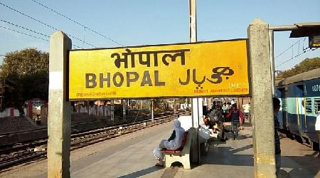 Bhopal rly station summer ready, but partially!